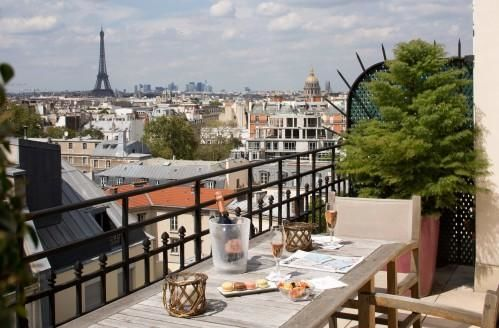 Located Between Montparne Saint Germain Des Prés Hotel Le Littre Is A Family Owned That Recently Finished Renovations Resulting In An Elevated