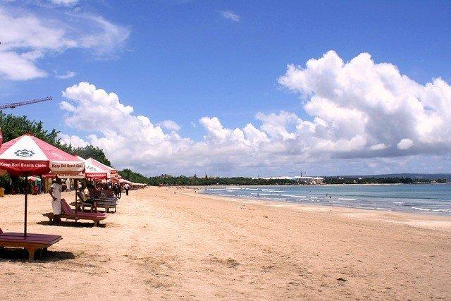 Kuta Beach for a Bali honeymoon