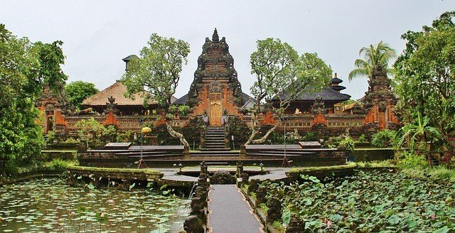 Bali honeymoon trip temple