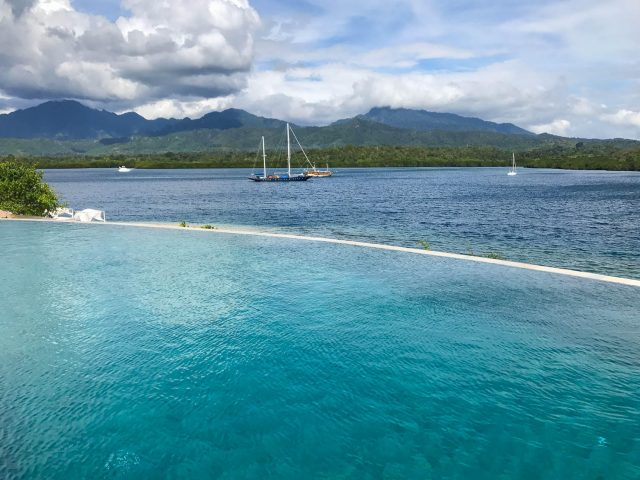 Menjangan Dynasty Resort infinity pool