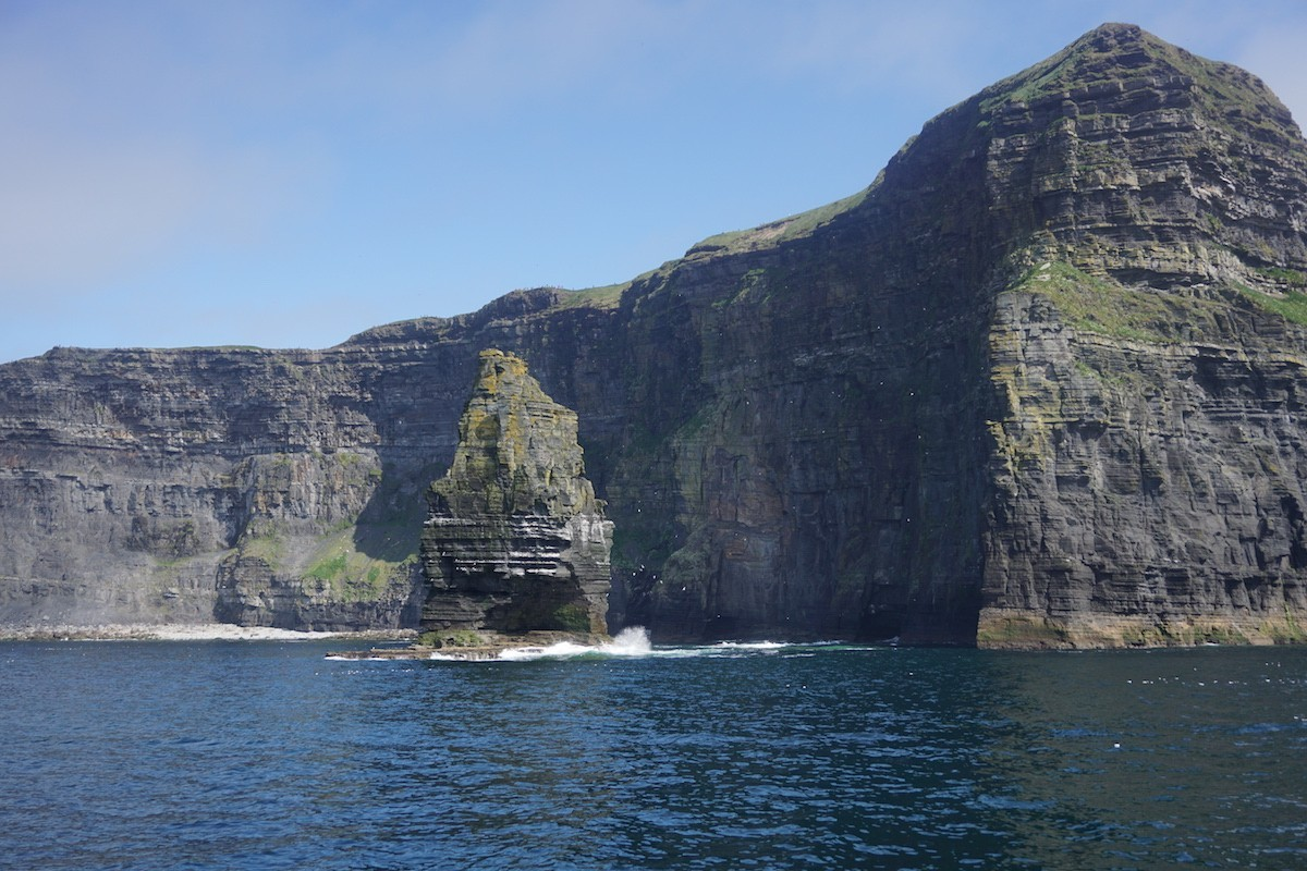 Cliffs of Moher from ferry