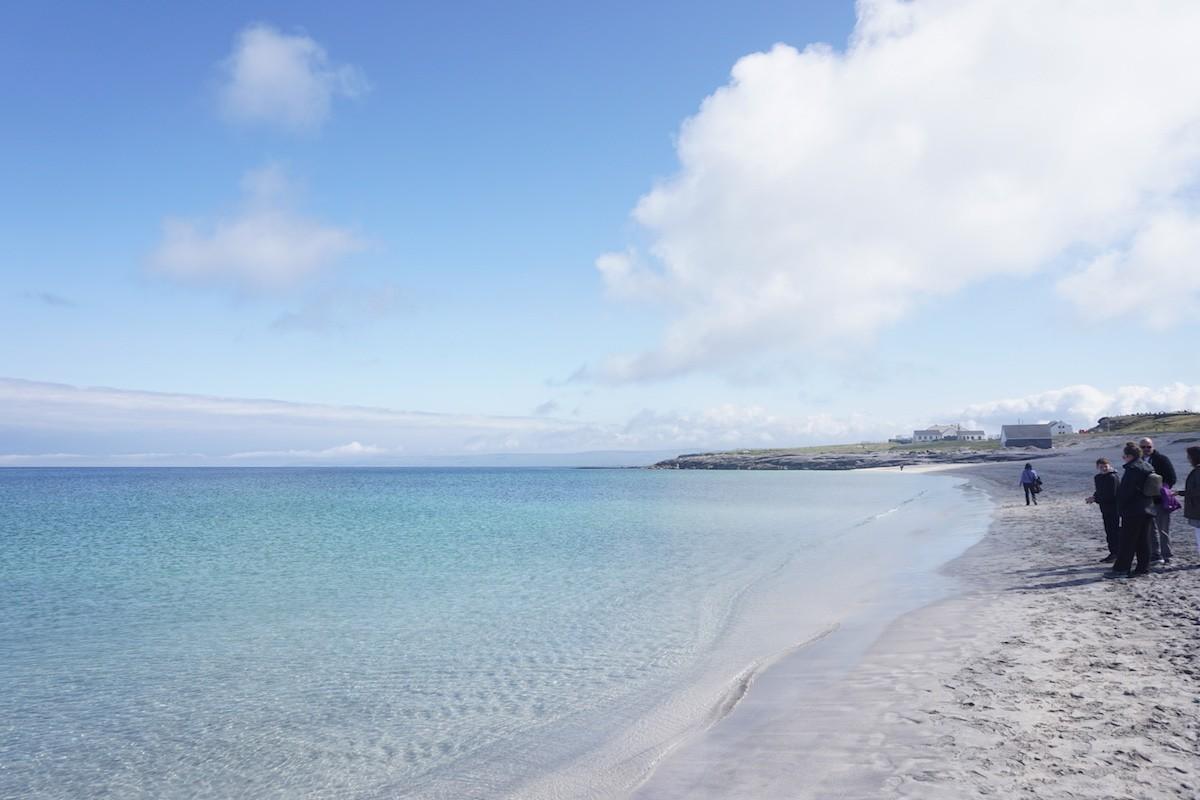 amazing clear water beach in Ireland