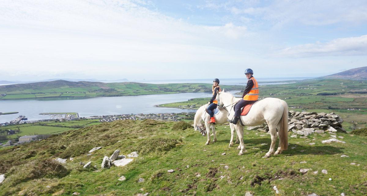 Horseback Riding On The Dingle Peninsula