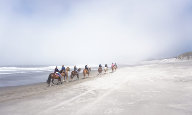 Horseback Riding on Oregon's Pacific Coast