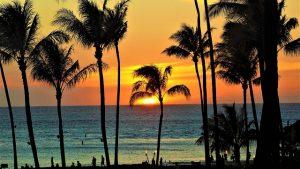 maui sunset for honeymooners