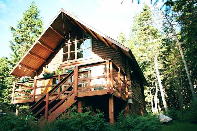 Alyeska Hideaway cabin