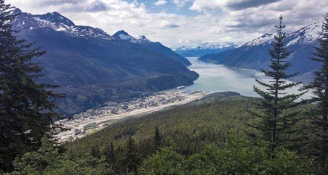 couples trip to Skagway Alaska