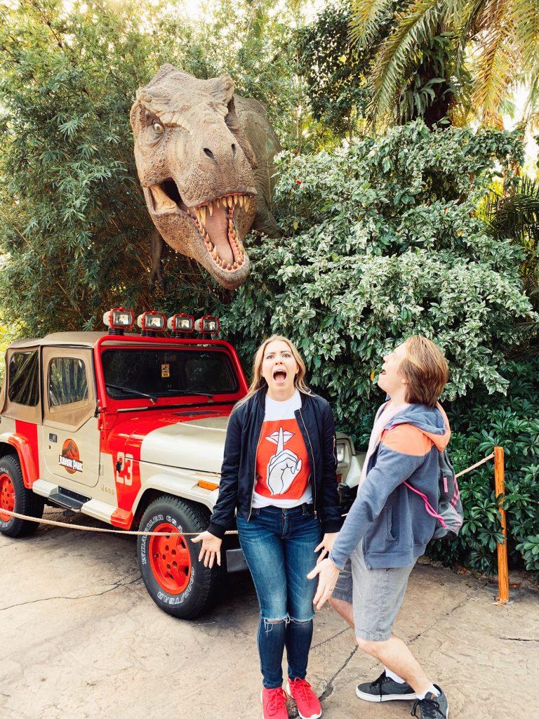 Couple at Jurassic Park attack at Universal Studios Orlando