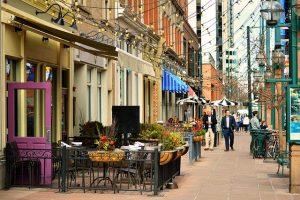 denver, colorado streets for honeymooners
