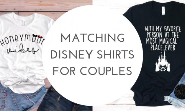 9d669703d Matching Disney Couples Shirts For Your Disney Honeymoon