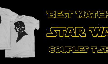 Star Wars Matching Couples Shirts (Perfect For A Honeymoon)