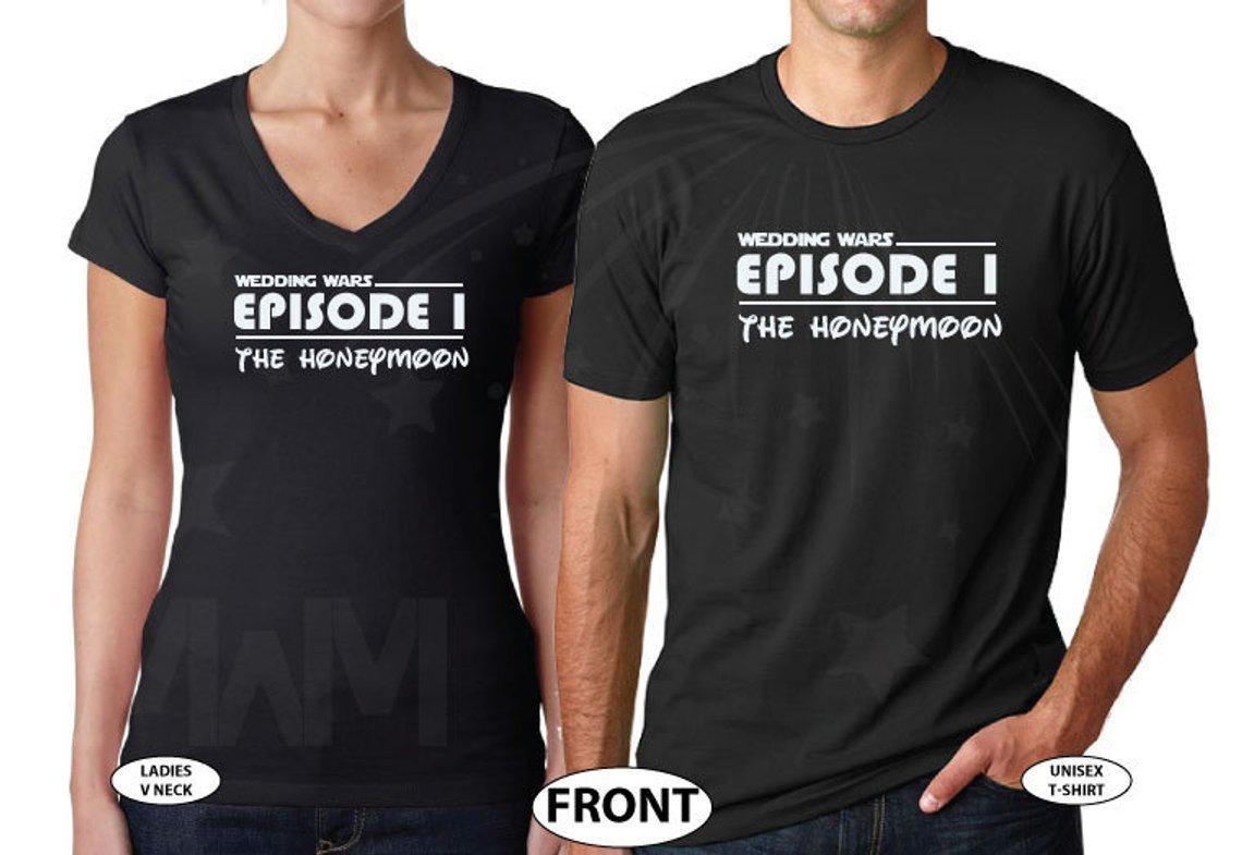 Star Wars Episode I Honeymoon Tees