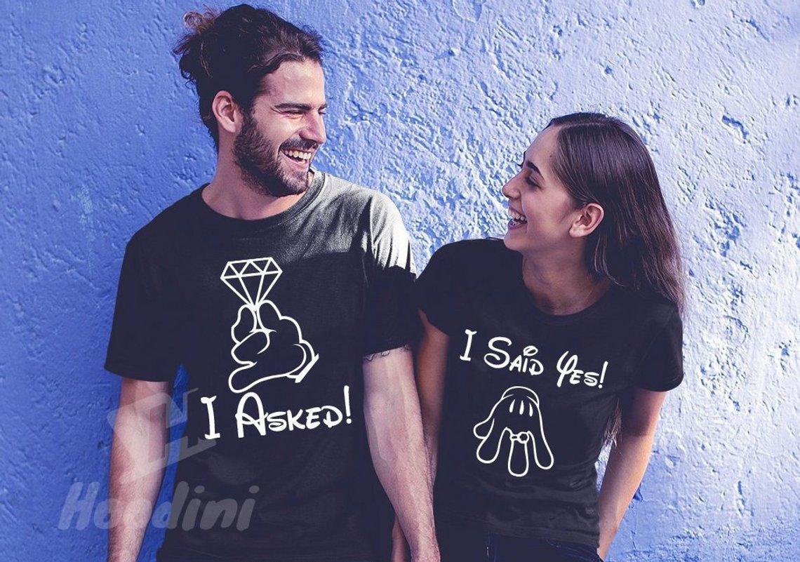 Disney Couples Honeymoon Tees