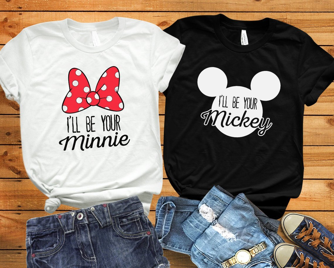 I'll Be Your Minnie/Mickey Matching Couples Tee