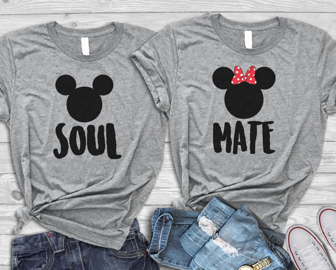 Soul Mate Disney Couples Tee