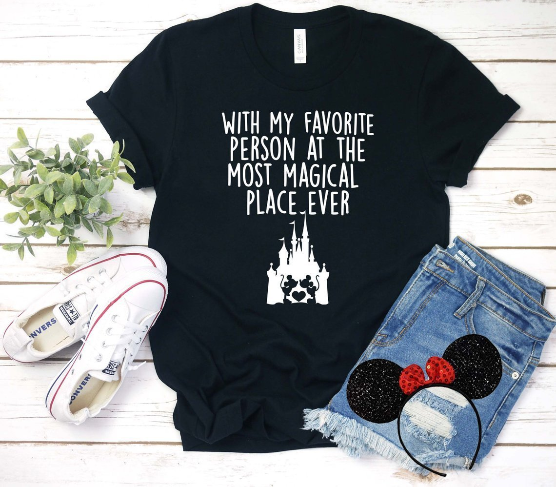 Magical Place / Favorite Person Honeymoon Tee