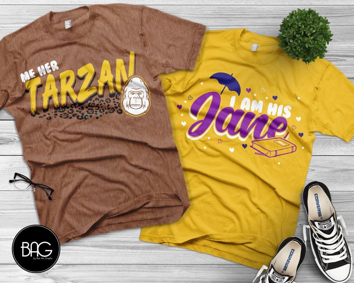 Tarzan & Jane Couples Tees