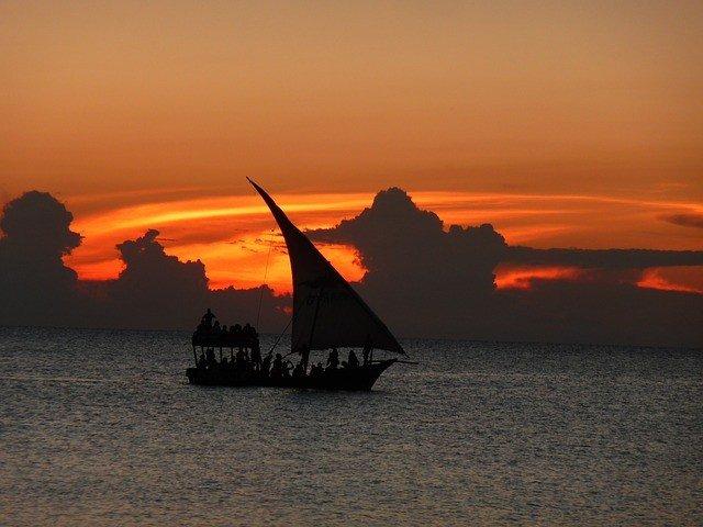 Zanzibar sailboat honeymoon sunset cruise