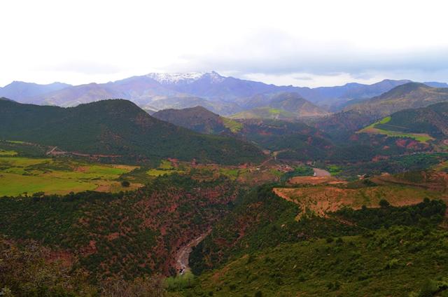 Atlas Mountains in Morocco
