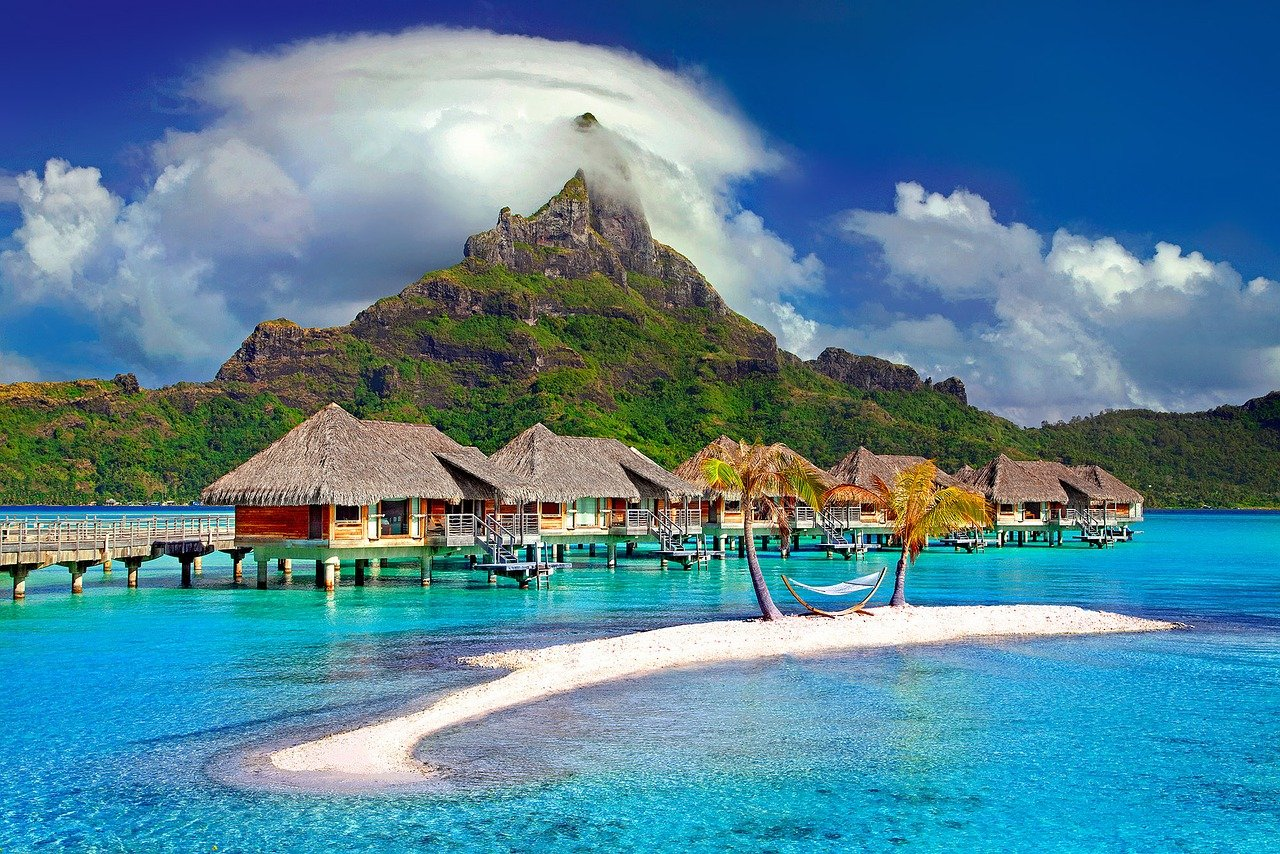 bora bora honeymoon bunglow