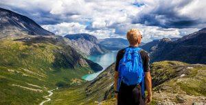 norway hiking for honeymooners