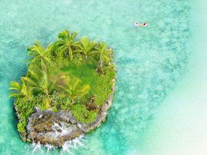 small island near honolulu for honeymooners