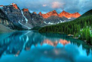 canadian lake for honeymooners