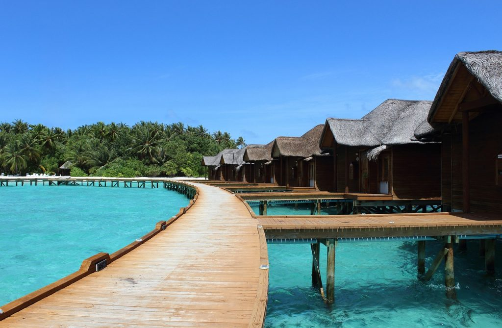 Maldives honeymoon bungalow