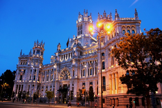Madrid Palace in Spain