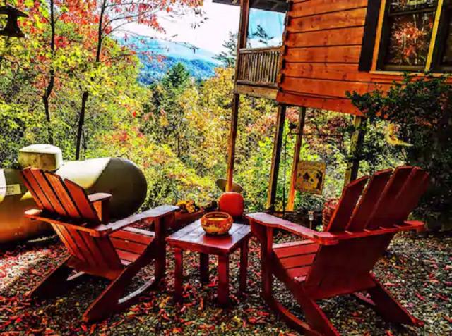 Mountain view Hideaway Blue Ridge Cabin