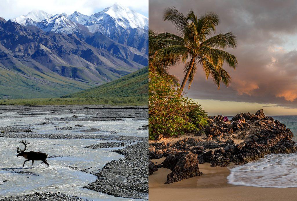 Alaska or Hawaii